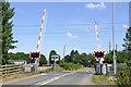 SK7961 : Cromwell Lane Crossing by Alan Murray-Rust