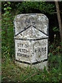 TF1605 : Former council boundary stone, Werrington by Paul Bryan