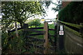 SE5325 : Stile at Beal Lock on the River Aire by Ian S