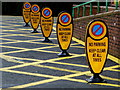 H4672 : No Parking indicators, Tyrone County Hospital by Kenneth  Allen