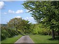 SX3566 : Byway to Newton Mill by Derek Harper