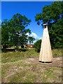 "SY6497 : New ""art-work"" bell tower at Bushes Barn, Godmanstone by Ian Allman"