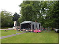 TM1645 : Christchurch Park music day 6 (side, close up) by Hamish Griffin