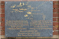 TV5895 : Plaque on Watch Tower, Beachy Head, Sussex by Christine Matthews