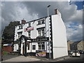 SD9504 : The Red Lion at County End by John Slater