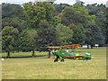 SP9632 : Tiger Moth Day at Woburn, Bedfordshire by Christine Matthews