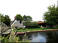 TM0733 : Looking across the River Stour by Adrian Cable