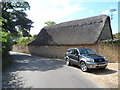 SP7140 : Thatched building near to St Mary's church, Lillington Lovell by Bikeboy
