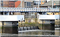 J3474 : The Lagan Weir footbridge, Belfast (August 2014) by Albert Bridge
