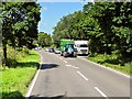 SJ8262 : Layby on the A534, West of Congleton by David Dixon