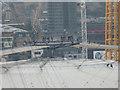 TQ3980 : Viewing Platform, O2 Arena, Greenwich by Christine Matthews