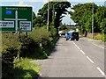 SJ7862 : A534 approaching Arclid Crossroads by David Dixon