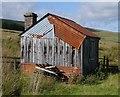 NY5597 : Platelayer's Hut Near Saughtree : Week 35