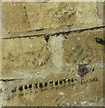 TG2712 : WW2 USAAF graffiti by Evelyn Simak