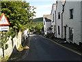 SX0990 : Lane in Boscastle near the school by Rob Purvis