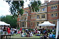 TL4458 : Garden party, Sidney Sussex College by N Chadwick