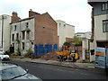 SP3165 : Sites awaiting redevelopment, top of Regent Grove, Leamington by Robin Stott
