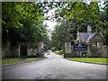 SK5554 : Newstead Abbey gates, Ravenshead by Richard Vince