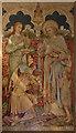 TQ3468 : St Mark, Albert Road, South Norwood - Baptistery wall painting by John Salmon