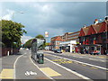 TQ3206 : Cycle lane and bus stop, Lewes Road, Brighton by Malc McDonald