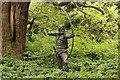SK6267 : Robin Hood by Richard Croft