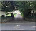 SJ8478 : Leafy entrance to Alderley Edge Physiotherapy Clinic by Jaggery