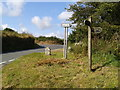 SX0463 : Reperry Cross, and the Saints Way signpost by Rob Purvis