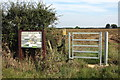 TL0854 : Footpath to Wilden through Crow Hill Farm by Philip Jeffrey