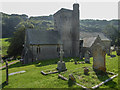 SY1988 : St Winifred's Church, Branscombe by Christine Matthews