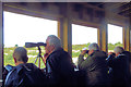 SP9313 : Bird Watching from the Visitor Centre Hide, College Lake by Chris Reynolds