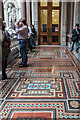 TQ2979 : Floor, Foreign and Commonwealth Office, King Charles Street, London SW1 by Christine Matthews