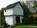 SO6855 : Gatehouse, Lower Brockhampton Estate, Herefordshire by Brian Robert Marshall