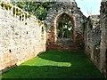 SO6856 : Norman chapel interior (1), Lower Brockhampton, Herefordshire by Brian Robert Marshall