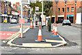 J3773 : The Upper Newtownards Road (EWAY), Ballyhackamore, Belfast - October 2014(1) by Albert Bridge