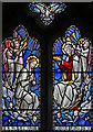 TQ2380 : St Stephen & St Thomas, Uxbridge Road - Stained glass window : Week 39
