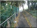 TQ2191 : Path from Bunns Lane to the A41, Mill Hill by David Howard