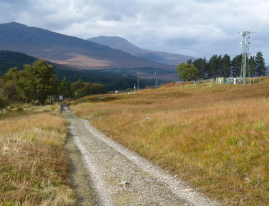 NN3039 : West Highland Way south of Bridge of Orchy by Dave Kelly