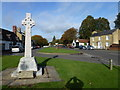 TL4675 : War memorial and The Green, Haddenham by Richard Humphrey