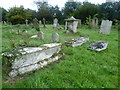 TQ8253 : In St Nicholas Churchyard, Leeds by Marathon