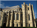 TR1557 : Canterbury Cathedral: east end by Stephen Craven