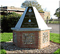 TF8425 : RAF West Raynham memorial by Evelyn Simak