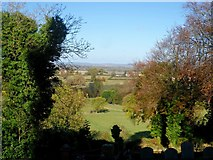 SP8307 : Looking north-west from St Peter and St Paul's church, Ellesborough by Bikeboy