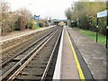 SJ3774 : Capenhurst railway station, Cheshire by Nigel Thompson