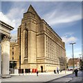 SJ8397 : Manchester Town Hall Extension, St Peter's Square by David Dixon
