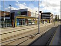 SJ8287 : Wythenshawe Town Centre Metrolink Stop by David Dixon