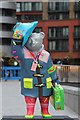 TQ2681 : Paddington Bear, Paddington Basin by Oast House Archive