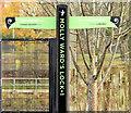 J3471 : New Lagan towpath sign, Stranmillis, Belfast (November 2014) by Albert Bridge