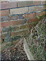 SK7390 : Bench mark, Mill House, Gringley by Alan Murray-Rust