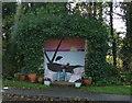 SX1151 : Luxurious bus shelter on Polvillion Road, Fowey by JThomas