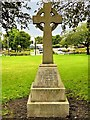 SD7807 : Memorial Cross, St Thomas' Churchyard, Radcliffe by David Dixon